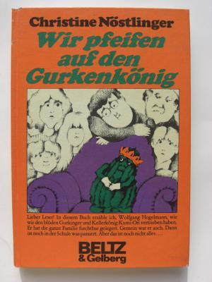 """""""Wir pfeifen auf den Gurkenkönig"""" - Bücher gebraucht ..."""