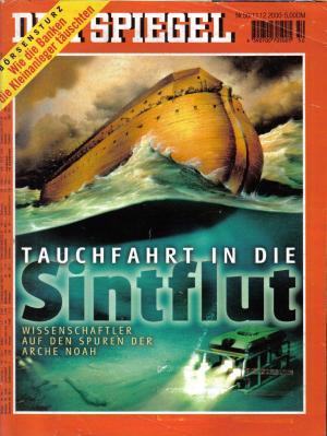DER SPIEGEL - Tauchfahrt in die Sintflut   Nr: 50 / 11.12.2000