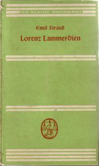Lorenz Lammerdien - Eine angefangene Erzählung