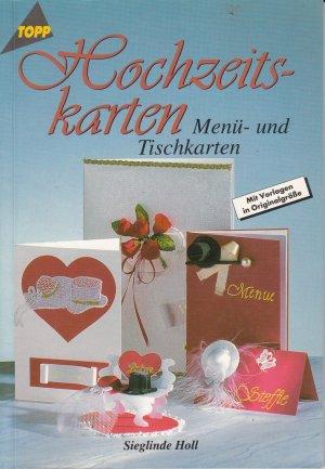 Hochzeitskarten Sieglinde Holl Buch Gebraucht Kaufen