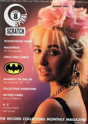 Bildtext: Spiral Scratch Magazin Nummer 8  August 1989      Transvision Vamp / Madonna ... von SPIRAL SCRATCH