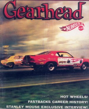 Bildtext: Gearhead Number 3          Fastbacks, MOTOR PSYCHO, BEACH BOYS, Stanley Mouse von diverse
