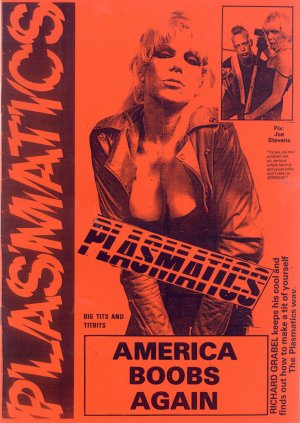 Bildtext: Plasmatics  -  America boobs again von Richard Grabel