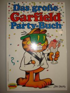 Das große Garfield Party-Buch. Krüger-Comics. Softcover Großformat
