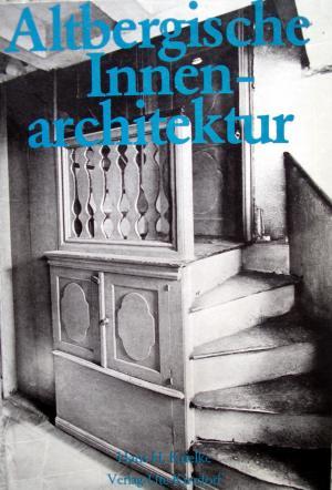 Innenarchitektur Buch altbergische innenarchitektur krielke hans h buch gebraucht