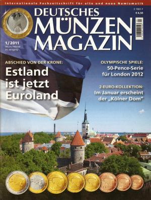Deutsches Münzen Magazin 12011 Neu Erzinger Wolfgang Buch