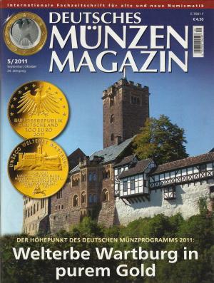 Deutsches Münzen Magazin 52011 Neu Erzinger Wolfgang Buch