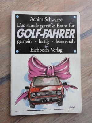 Das standesgemässe Extra für Golf-Fahrer