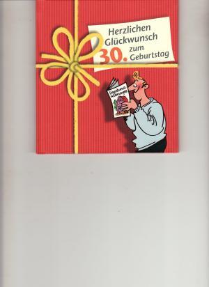 Herzlichen Gluckwunsch Zum 30 Peter Butschkow Buch Gebraucht