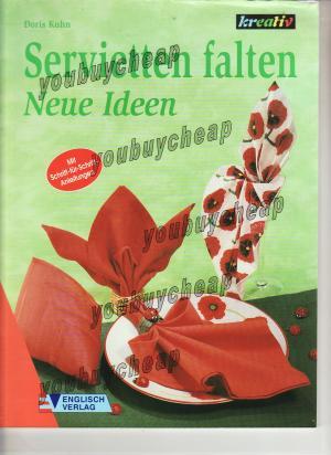 servietten falten doris kuhn buch gebraucht kaufen a01rqloq01zzu. Black Bedroom Furniture Sets. Home Design Ideas