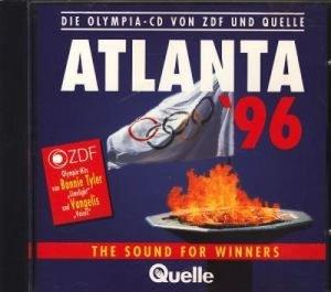 Atlanta '96 : The Sound for Winners : Die Olympia-CD von ZDF und Quelle  .
