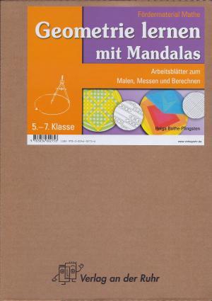 Geometrie lernen mit Mandalas - Arbeitsblätter zum Malen, Messen ...