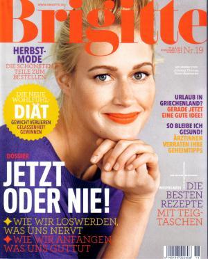 Brigitte Das Magazin Fur Frauen Heft 19 22 08 2012