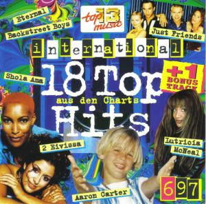 18 Tophits aus den Charts 1997/06 International