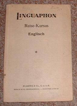 30 Reisegespräche - Linguaphon  Reise-Kursus Englisch.