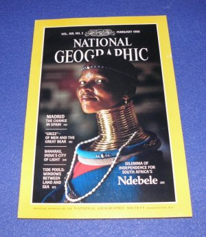National Geographic - February 1986 - Dilemma of Independence for South Africas Ndebele