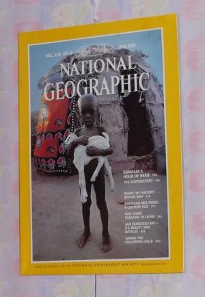 National Geographic - Juni 1981- Somalias Hour of need