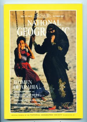 National Geographic - October 1987 - Women of Arabia
