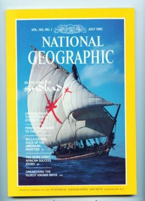 National Geographic - July 1982 - In the wake of Sindbad