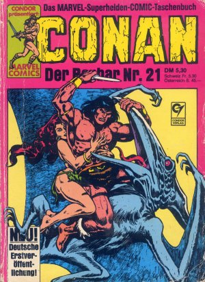 Bildtext: CONAN - Der Barbar Nr. 21 - Marvel Superhelden Comic von Robert E. Howard