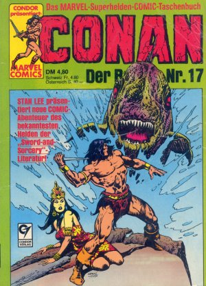 Bildtext: CONAN - Der Barbar Nr. 17 - Marvel Superhelden Comic von Robert E. Howard