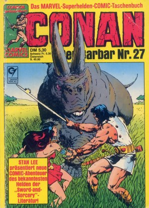 Bildtext: CONAN - Der Barbar Nr. 27 - Marvel Superhelden Comic von Robert E. Howard