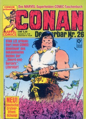 Bildtext: CONAN - Der Barbar Nr. 26 - Marvel Superhelden Comic von Robert E. Howard