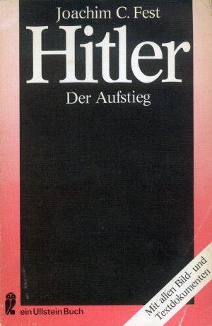 Bildtext: Hitler - der Aufstieg von Joachim C. Fest