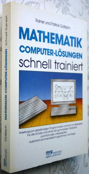 Mathematik Computer Lösungen Schnell Trainiert Gaitzsch Rainer Und