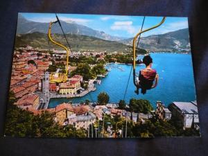 Lago di Garda -Riva - Bastione Sessellift  (AK, vor 1972, ungelaufen)