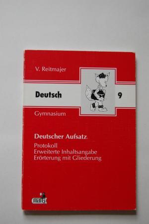 Deutscher Aufsatz Gymnasium Klass 9 Protokoll Erweiterte