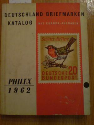 Philex 1962 Deutschland Briefmarken Katalog Mit Europa Ausgaben