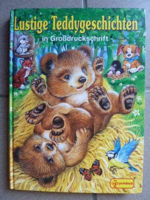 Lustige Teddygeschichten in Großdruckschrift zum Vorlesen und Selberlesen