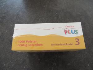 Deutsch Plus Grundschule 1000 Wörter Richtig Schreiben