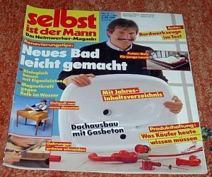 selbst ist der mann das heimwerker magazin nr zeitschrift heimwerken 1988 buch. Black Bedroom Furniture Sets. Home Design Ideas