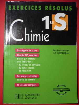 Exercices Résolus Chimie 1reS - Durandeau, Jean-Pierre et al.