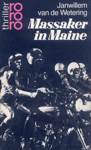 Bildtext: Massaker in Maine von Wetering, Janwillem van de