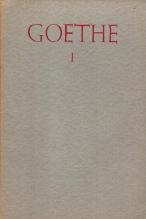 Johann Wolfgang von) Goethe I .Reihe Deutsche Gedichte Heft 9