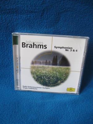 Johannes Brahms Symphonien Nr. 3 & 4 - Radio Sinfonieorchester Stuttgart, Sergiu Celibidache
