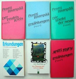 Konvolut Finnische Literatur   (6 Bücher)