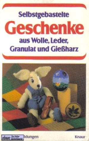Selbstgebastelte Geschenke Aus Wolle Leder Granulat Und Giessharz