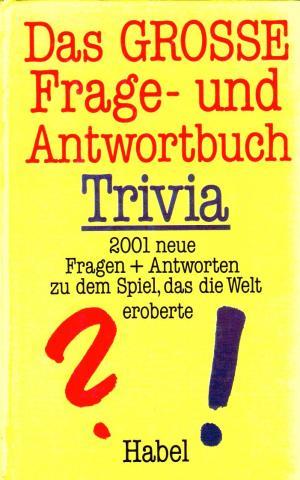 Das Grosse Frage Und Antwortbuch Trivia Buch Gebraucht Kaufen