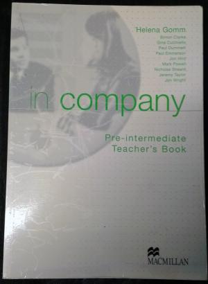 Bildtext: in company Pre-intermediate Teachers Book von Helena Gomm