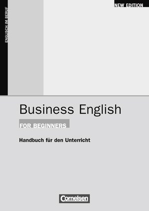 Bildtext: Business English for Beginners Handreichungen für den Unterricht von Frendo, Evan Smith, David