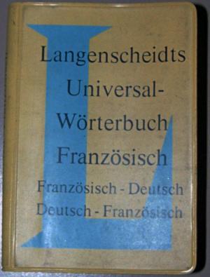 Bildtext: Universal Wörterbuch Französisch- Deutsch/ Deutsch- Fanzösisch poket von Langenscheidt