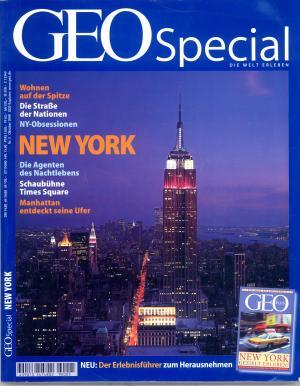 Bildtext: Geo Special 1999, Nr. 5 - New York. GEO, Magazin, Special von Peter-Matthias Gaede, Andreas Wolfers