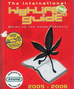 Bildtext: The International high life guide. Guide to the hemp industry. von BECKERS, ANDRÉE