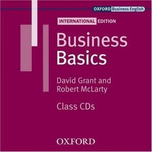 Bildtext: Business Basics. American English. Class CD's (Business Basics International Edition), Audiobook, Audio CD von David Grant, Robert McLarty