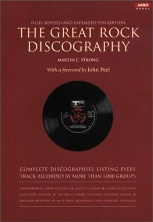 Bildtext: The Great Rock Discography von Martin C. Strong, M. C. Strong, John Peel