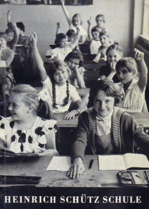Bildtext: Jubiläumsjahrbuch der Heinrich-Schütz-Schule Kassel 1909 - 1959 von Jubiläumsjahrbuch der Heinrich-Schütz-Schule Kassel 1909 - 1959